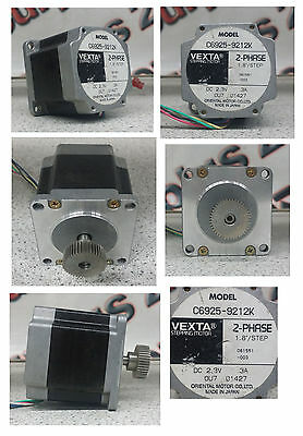 Vexta 6925-9212K 2-Phase 1.8Deg/step High Torque Stepper Motors (1.8°)