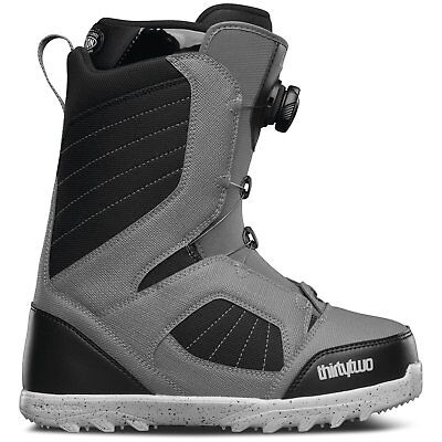 NEW Snow gear ThirtyTwo STW BOA Mens Snowboard Boot Grey