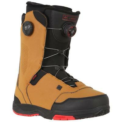 NEW Snow gear Ride Lasso Mens Snowboard Boot Brown