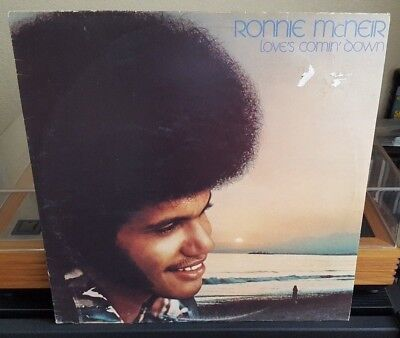 Ronnie McNeir - Love's Comin' Down Vinyl LP Motown Ray Parker 1976 Soul Northern
