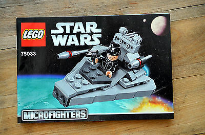 INSTRUCTION Manual ONLY - LEGO Star Wars 75033 Star Destroyer - NEW