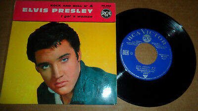 ELVIS PRESLEY 'ROCK AND ROLL No 4' 86.292 RCA VICTOR 1961 FRENCH ISSUE