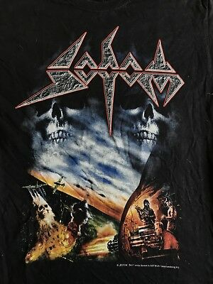 Sodom Agent Orange official t shirt Large Thrash Metal