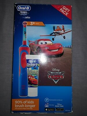 Oral B Disney cars electric toothbrush *Brand new*
