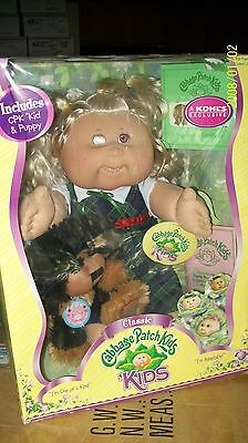 Cabbage Patch Kid Doll Playalong Classic Kid And Puppy