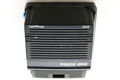 PhaseOne Light Phase digital back for Contax 645 (model C645) in good condition.