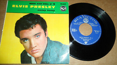 ELVIS PRESLEY 'ROCK AND ROLL No 5' 86.293 RCA VICTOR 1961 FRENCH ISSUE