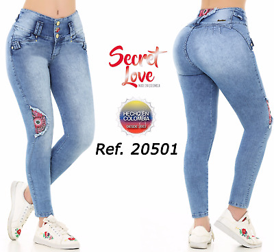 Jeans Colombianos, Authentic Colombian Push Up Jeans, Jeans Levanta Cola