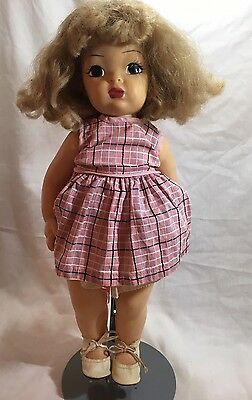 Vintage Terri Lee Doll Lot w/ Clothes Roller Skates Dress Pajamas Robe & more