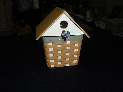"Longaberger / ""BIRDHOUSE"" (Rendition of the 2007 CC Birdhouse),  NEW!!!"