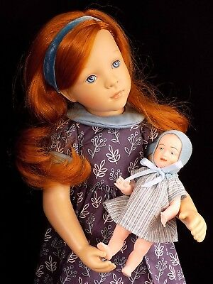 Brigitte and Baby Doll By Sylvia Natterer FINOUCHE PETITCOLLIN Bambola Muneca