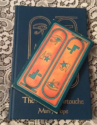 The Way Of Cartouche by Murry Hope Book & Card Set First Edition