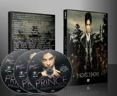 PRINCE live in Montreux 2013 3 Shows, 3 DVD set