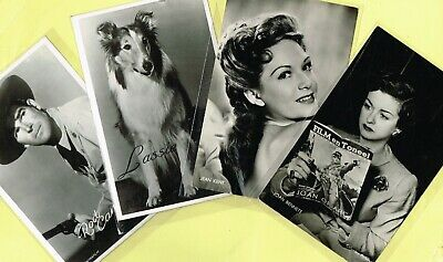 TAKKEN - 1950s Film Star Postcards issued in Holland #AX101 to #AX230