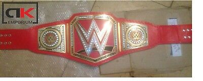 WWE Universal Championship Metal Adult Wrestling RAW Replica Title Belt.