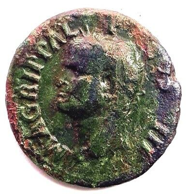Agrippa, Æ As. Agrippa. Struck under Caligula, 37-41 AD. M AGRIPPA L F COS III