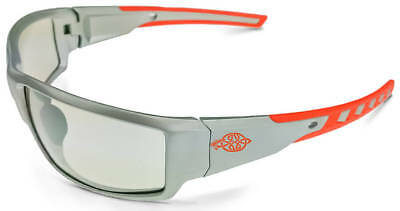 Crossfire Cumulus Safety Glasses with Silver Frame and Indoor/Outdoor Lens