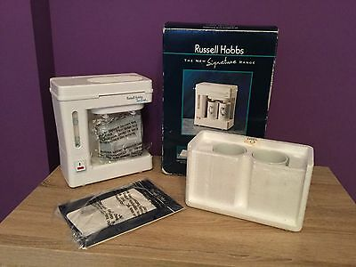 Russell Hobbs Signature Range Tea & Coffe Maker. Vintage, Model 3354 Collectible