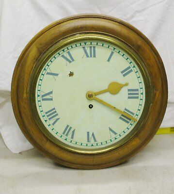 Tameside Fusee Dial Wall Clock For Restoration