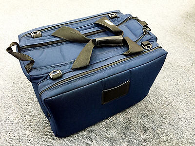 New Bagmaster Shooting Range Gun Bag  Competitors Model - Navy Blue