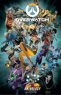 Overwatch: Anthology Volume 1 Hardcover New 2017 FREE 2-DAY SHIPPING !!!