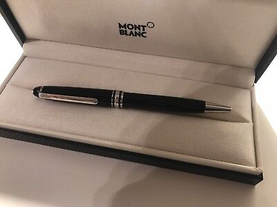 Mont Blanc Meisterstuck Platinum Ballpoint Pen new boxed never used original