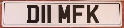 Cherished Private Number Plate D11 MFK Funny Rude Fun Cheeky