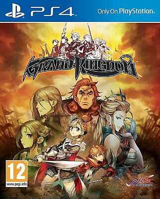 Grand Kingdom (Playstation 4) BRAND NEW SEALED PS4