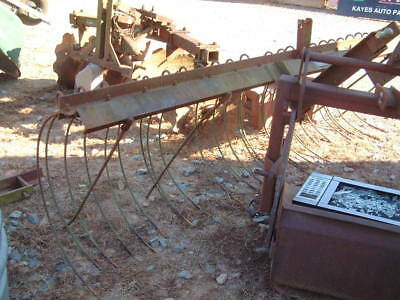 Hay Rake, 3 Point Hitch, Manufactured by Fordmac USA Large 9 Ft.