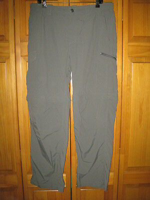 Columbia Blind Alley cargo hiking pants kids boys 14/16 green camping NWT NEW