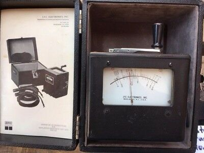 JFC Mini-500 Ohmmeter in Original Case and in good condition, Used AS IS
