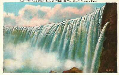 Postcard The Falls from the Deck of the Maid of the Mist Niagara Falls 302