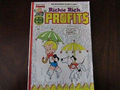 Richie Rich Profits Comic #18 1977