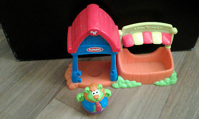 Weebles Playskool Hasbro Pawtucket vintage playset and weeble