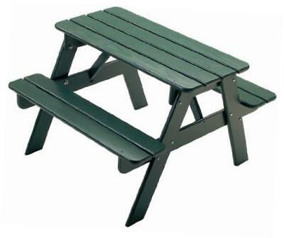 144gn child's picnic table-green