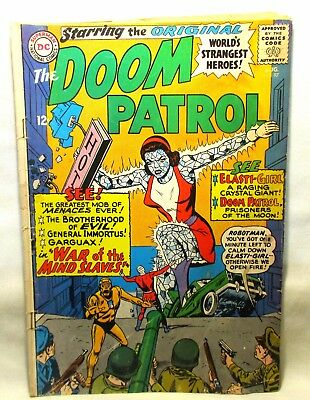The Doom Patrol #97 Aug 1965 Comic Book Silver Age