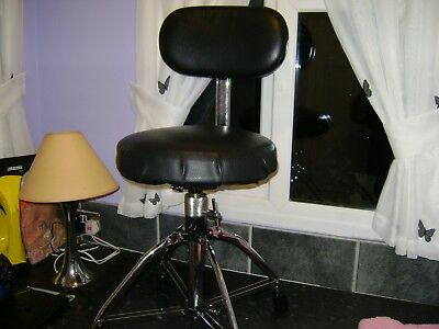 Drum Stool with back rest