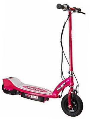 13111261 e100 electric scooter, pink