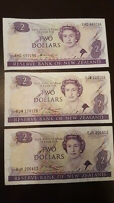 $2 New Zealand banknote