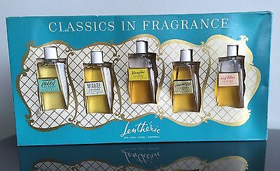 Vintage Lentheric Classics In Fragrance Perfume Cologne Sampler Original Box