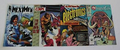Lot of 4 Comics Marvel John Byrnes Next Men 28 H.A.R.D. 24 Story of Electronics