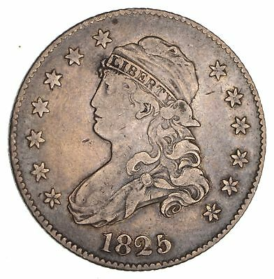 1825/4 Capped Bust Quarter- Circulated *1964