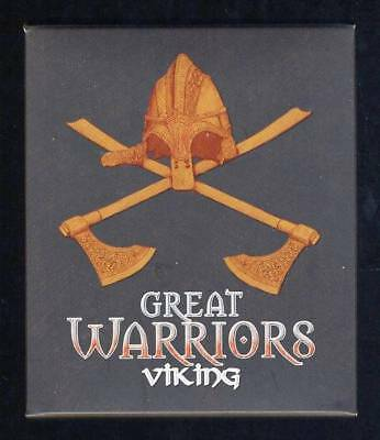 2010 Tuvalu Great Warriors 1oz Coloured Silver Proof - Viking