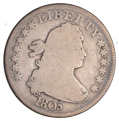 1805 Draped Bust Quarter-  Circulated *1956