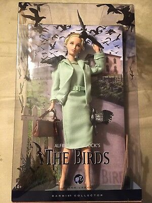 Mattel Barbie Alfred Hitchcock The Birds Tippi Hedren Doll New In Box