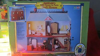 """Madeline's """"Old House in Paris""""  Doll House by Eden RETIRED NEW"""