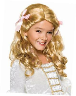 rubies costume co child's gracious princess blonde costume wig