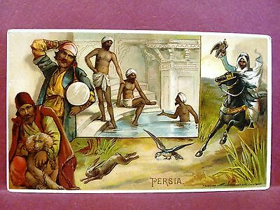 Arbuckle Brothers Coffee Trade Card Persia #35 1893