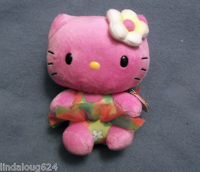 Hello Kitty Purple With Tutu Collectible Ty Beanie Baby Nwt 2014