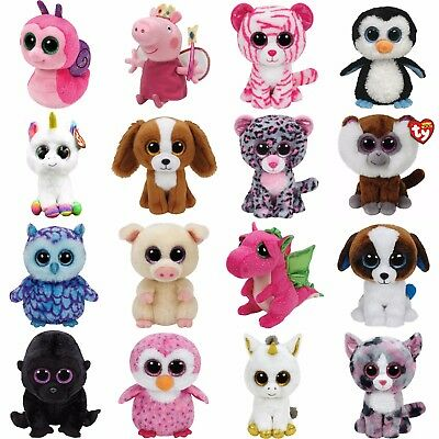 "Ty Beanie Boos Original Regular Sz 6"" - Choose Your Favourite Boo Soft Toy NWMT"